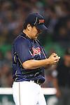 Masahiro Tanaka (JPN), .MARCH 6, 2013 - WBC : .2013 World Baseball Classic .1st Round Pool A .between Japan 3-6 Cuba .at Yafuoku Dome, Fukuoka, Japan. .(Photo by YUTAKA/AFLO SPORT) [1040]