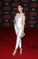 LOS ANGELES, CA - DECEMBER 9: Janina Gavankar, at Premiere Of Disney Pictures And Lucasfilm's 'Star Wars: The Last Jedi' at Shrine Auditorium in Los Angeles, California on December 9, 2017. Credit: Faye Sadou/MediaPunch /NortePhoto.com NORTEPHOTOMEXICO