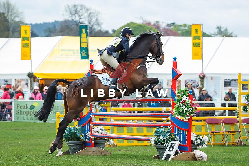 AUS-Samantha McLeod. 2013 GBR-Chatsworth International Horse Trials. Sunday 12 May. Copyright Photo: Libby Law Photography