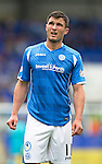 St Johnstone v Inverness Caley Thistle...08.08.15...SPFL..McDiarmid Park, Perth.<br /> John Sutton<br /> Picture by Graeme Hart.<br /> Copyright Perthshire Picture Agency<br /> Tel: 01738 623350  Mobile: 07990 594431