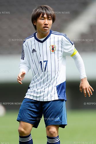 Daisuke Sakai (JPN), <br /> APRIL 18, 2017 - Football / Soccer : <br /> U-20 Japan National team training match <br /> between U-20 - JEF United Chiba <br /> in Chiba, Japan. <br /> (Photo by Yohei Osada/AFLO SPORT)