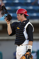 September 1 2008: Flint Wipke of the Rancho Cucamonga Quakes during game against the Inland Empire 66'ers at The Epicenter in Rancho Cucamonga,CA.  Photo by Larry Goren/Four Seam Images