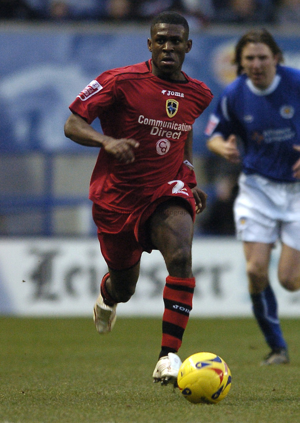 Photo: Jonathan Butler..Leicester City v Cardiff City. Coca Cola Championship. 23/12/2006..Kerrea Gilbert of Cardiff City.