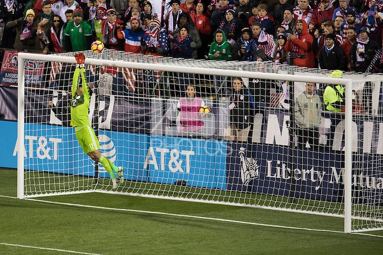 Columbus, Ohio - Friday, November 11, 2016: Alfredo Talavera during a USMNT vs Mexico WCQ at Mapfre Stadium. Mexico defeated the USA 2-1.