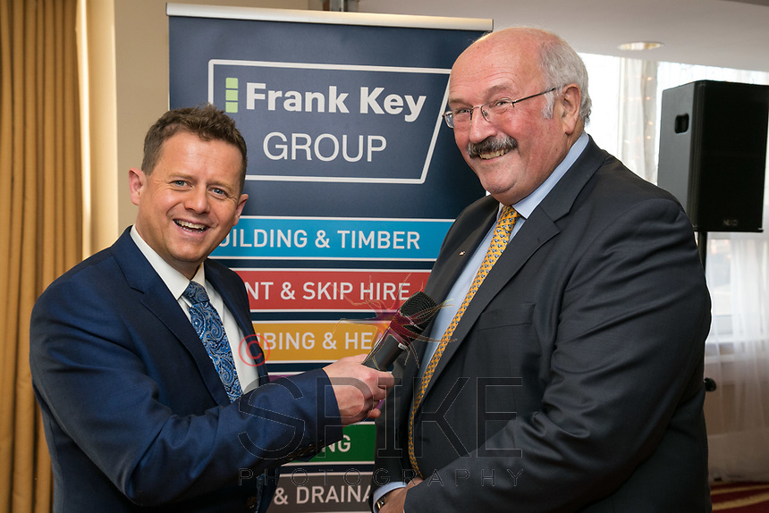 Mike Bushell with Robert Sansom of Frank Key