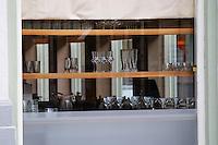 The gastronomic restaurant Niklas on Norra Storgatan. Helsingborg, Skane, Scania. Sweden, Europe.