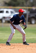 March 22, 2010:  Shortstop Michael Taylor of the Washington Nationals organization during Spring Training at the Carl Barger Training Complex in Melbourne, FL.  Photo By Mike Janes/Four Seam Images
