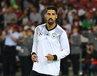 Sami Khedira (Deutschland Germany) - 04.09.2017: Deutschland vs. Norwegen, Mercedes Benz Arena Stuttgart