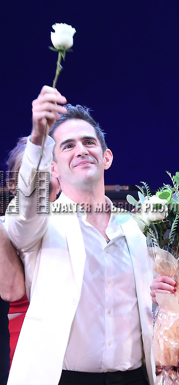 Andy Blankenbuehler during the Broadway Opening Night Curtain Call Bows of 'Bandstand' at the Bernard B. Jacobs Theatre on 4/26/2017 in New York City.