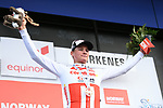 Mathieu Van Der Poel (BEL) Corendon-Circus wins Stage 1 of the 2018 Artic Race of Norway, running 184km from Vadso to Kirkenes, Norway. 16th August 2018. <br /> <br /> Picture: ASO/Pauline Ballet | Cyclefile<br /> All photos usage must carry mandatory copyright credit (&copy; Cyclefile | ASO/Pauline Ballet)