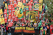 A Future that Works: TUC march and rally against austerity, London.