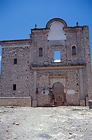 The ruins of the Ex-Convento de Bucareli in the Sierra Gorda Biosphere Reserve, Queretaro state, Mexico