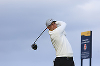 Tom Lewis (ENG) during 1st round of the 148th Open Championship, Royal Portrush golf club, Portrush, Antrim, Northern Ireland. 18/07/2019.<br /> Picture Thos Caffrey / Golffile.ie<br /> <br /> All photo usage must carry mandatory copyright credit (© Golffile | Thos Caffrey)