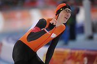 OLYMPICS: SOCHI: Adler Arena, 18-02-2014, Men's 10.000m, Jorrit Bergsma (NED), ©photo Martin de Jong