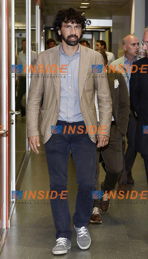 Milano 28/07/2014 - presentazione calendari serie A stagione 2014-2015 / foto Daniele Buffa/Image Sport/Insidefoto<br /> nella foto: Damiano Tommasi