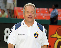 Dave Sarachan assistant coach of the Los Angeles Galaxy during an MLS match against D.C. United at RFK Stadium on July 18 2010, in Washington D.C. Galaxy won 2-1.