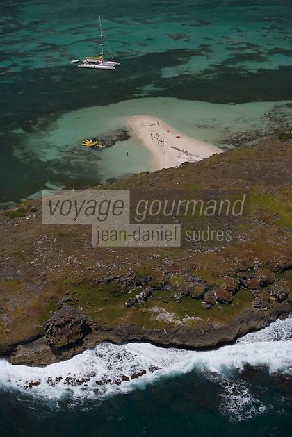 France/DOM/Martinique/envLe Vauclin: Cap Chevalier-Plage et récif coralien Cote Atlantique Sud