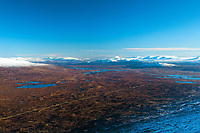 Looking across Rannoch Moor towards Schiehallion from Meall a' Bhuiridh, Highland