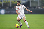 Artur Ionita of Cagliari during the Coppa Italia match at Giuseppe Meazza, Milan. Picture date: 14th January 2020. Picture credit should read: Jonathan Moscrop/Sportimage