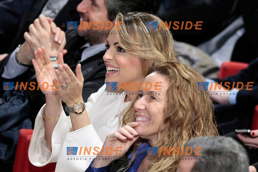 Francesca Pascale e Manuela Repetti<br /> Roma 08/12/2013 Auditorium della Tecnica. Manifestazione dei Club Forza Silvio.<br /> Convention of Clubs Forza Silvio.<br /> Photo Samantha Zucchi Insidefoto
