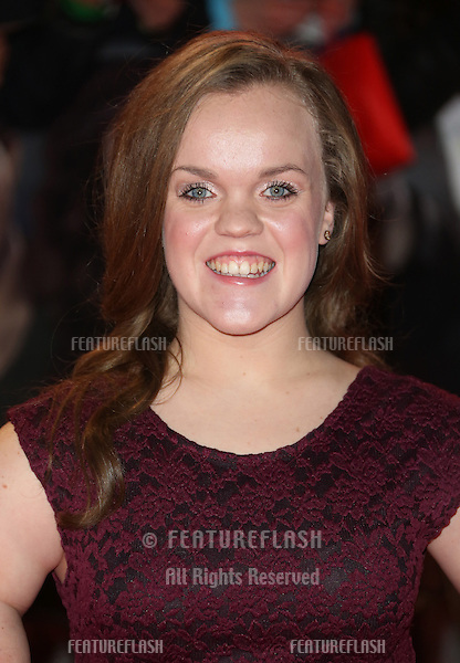 """Ellie Simmonds arriving for the """"The Twilight Saga: Breaking Dawn Part 2"""" premiere at the Odeon Leicester Square, London. 14/11/2012 Picture by: Henry Harris / Featureflash"""