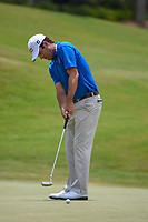 Robert Streb (USA) watches his putt on 1 during round 1 of The Players Championship, TPC Sawgrass, at Ponte Vedra, Florida, USA. 5/10/2018.<br /> Picture: Golffile | Ken Murray<br /> <br /> <br /> All photo usage must carry mandatory copyright credit (&copy; Golffile | Ken Murray)