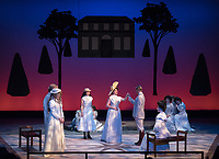 Dept. of Theater production of A Little Night Music, Keck Theater.