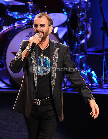 New York,NY-June 18: Ringo Starr attends Ringo Starr and his all star band at the Beacon Theater in New York City on June 18, 2014. Credit: John Palmer/MediaPunch