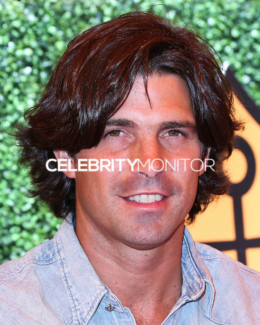 PACIFIC PALISADES, CA, USA - OCTOBER 11: Nacho Figueras arrives at the 5th Annual Veuve Clicquot Polo Classic held at Will Rogers State Historic Park on October 11, 2014 in Pacific Palisades, California, United States. (Photo by Xavier Collin/Celebrity Monitor)