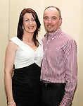 Jill Birch with her husband celebrating her 40th in The Westcourt...(Photo credit should read Jenny Matthews/www.newsfile.ie)....This Picture has been sent you under the conditions enclosed by:.Newsfile Ltd..The Studio,.Millmount Abbey,.Drogheda,.Co Meath..Ireland..Tel: +353(0)41-9871240.Fax: +353(0)41-9871260.GSM: +353(0)86-2500958.email: pictures@newsfile.ie.www.newsfile.ie.