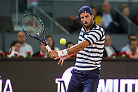 Feliciano Lopez during the match of the Charity day previus at Madrid Open Tenis 2017in  Madrid, Spain. May 04, 2017. (ALTERPHOTOS/Rodrigo Jimenez) /NORTEPHOTO.COM