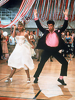 Grease (1978) <br /> Olivia Newton-John, John Travolta<br /> *Filmstill - Editorial Use Only*<br /> CAP/MFS<br /> Image supplied by Capital Pictures