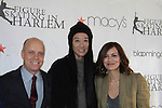 All My Children Rebecca Budig poses with Scott Hamilton and designer Vera Wang at the 2012 Skating with the Stars  - a benefit gala for Figure Skating in Harlem celebrating 15 years on April 2, 2012 at Central Park's Wollman Rink, New York City, New York.  (Photo by Sue Coflin/Max Photos)
