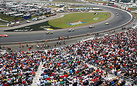 14 September 2008--A huge crowd watches the Sylvania 300 at New Hampshire Motor Speedway in Loudon, NH.  (Brian Cleary/BCPix.com)