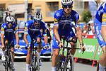 Deceuninck-Quick Step including Zdenek Stybar (CZE) recon Stage 1 of La Vuelta 2019, a team time trial running 13.4km from Salinas de Torrevieja to Torrevieja, Spain. 24th August 2019.<br /> Picture: Eoin Clarke | Cyclefile<br /> <br /> All photos usage must carry mandatory copyright credit (© Cyclefile | Eoin Clarke)