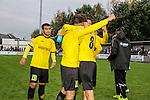 2015-10-25 / Voetbal / seizoen 2015-2016 / KSK Heist - K Lierse SK / Lierse viert de overwinning tegen Heist<br /><br />Foto: Mpics.be