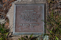 Tib Dodd Grave Site and Plaque, Yellow Island, San Juan Islands, Washington, US