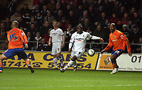 Pictured: Jason Scotland of Swansea City in action <br /> Re: Coca Cola Championship, Swansea City FC v Reading at the Liberty Stadium. Swansea, south Wales, Saturday 17 January 2009<br /> Picture by D Legakis Photography / Athena Picture Agency, Swansea 07815441513