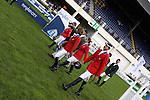 August 07, 2009: The US equestrian team before competition. Meydan FEI Nations Cup. Failte Ireland Horse Show. The RDS, Dublin, Ireland.
