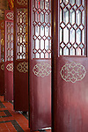 Main entrance panelled doors.