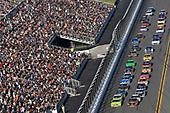 Monster Energy NASCAR Cup Series<br /> Daytona 500<br /> Daytona International Speedway, Daytona Beach, FL USA<br /> Sunday 18 February 2018<br /> Martin Truex Jr., Furniture Row Racing, Bass Pro Shops/5-hour ENERGY Toyota Camry and Ryan Blaney, Team Penske, Menards/Peak Ford Fusion<br /> World Copyright: Nigel Kinrade<br /> LAT Images