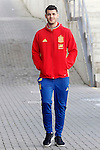 Alvaro Morata during Spanish national football team staff. March 21,2016. (ALTERPHOTOS/Acero)
