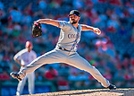 30 July 2017: Colorado Rockies pitcher Mike Dunn on the mound against the Washington Nationals at Nationals Park in Washington, DC. The Rockies defeated the Nationals 10-6 in the second game of their 3-game weekend series. Mandatory Credit: Ed Wolfstein Photo *** RAW (NEF) Image File Available ***