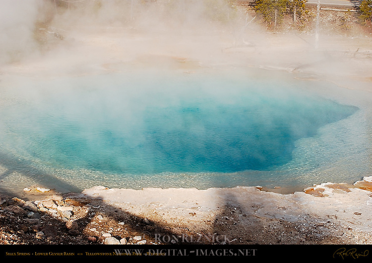 Silex Spring, Lower Geyser Basin, Yellowstone National Park, Wyoming