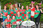 Beale Ladies GAA:  Pictured at the launch of the Beale GAA Ladies Football club at Kilcooly's Hotel on Sunday last were in front Aoife Dillon, U/12, Chloe Elbell, U/10, Sarah Jane Carmody, U/14 & Marion Malassis, Beal Cheese. Back: hillary Costello, U/16, Aoife Walsh, Senior Team, Muireann Quane, Senior , Molly Carmody, U/16, Anna Kohlmann, U/16, Bridget Carmody, Beal Cheese & Denise O'Connor, Manager Kilcooley's Hotel.