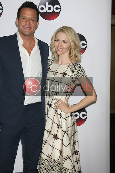 Josh Hopkins, Johanna Brady<br /> at the Disney ABC TV 2016 TCA Party, The Langham Huntington Hotel, Pasadena, CA 01-09-16<br /> David Edwards/DailyCeleb.com 818-249-4998