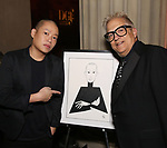 Jason Wu and Ken Fallin attends 2017 Dramatists Guild Foundation Gala reception at Gotham Hall on November 6, 2017 in New York City.