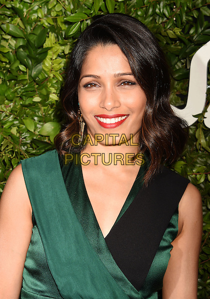 BEVERLY HILLS, CA - SEPTEMBER 09: Actress Freida Pinto arrives at the Salvatore Ferragamo 100 Years In Hollywood celebration at the newly unveiled Rodeo Drive flagship Salvatore Ferragamo boutique on September 9, 2015 in Beverly Hills, California.<br /> CAP/ROT/TM<br /> &copy;TM/ROT/Capital Pictures