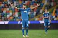 Rodrigo Bentancur of Juventus <br /> during the Serie A football match between Udinese Calcio and Juventus FC at Friuli stadium in Udine <br />  (Italy), July 23th, 2020. Play resumes behind closed doors following the outbreak of the coronavirus disease. Photo Federico Tardito / Insidefoto