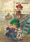 Alfredo, CHILDREN, paintings, BRTOVE0015,#K# Kinder, niños, nostalgisch, nostálgico, illustrations, pinturas